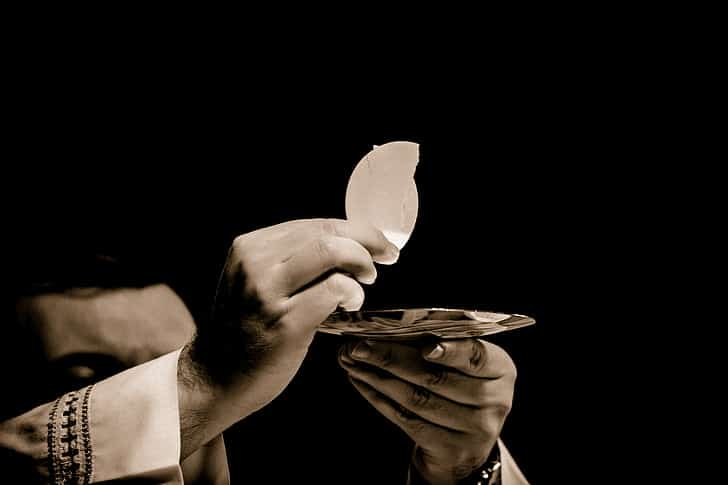 Jesus love eucharist real presence source and summit sacrament