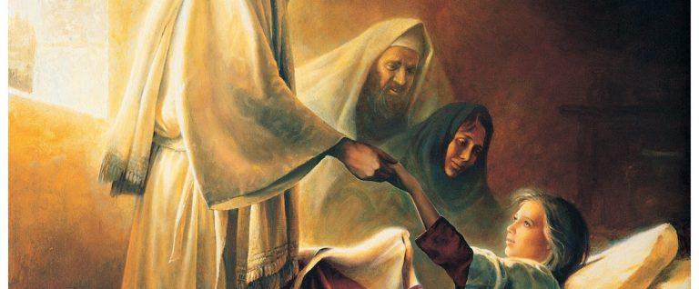 jesus raising the daughter of jairus