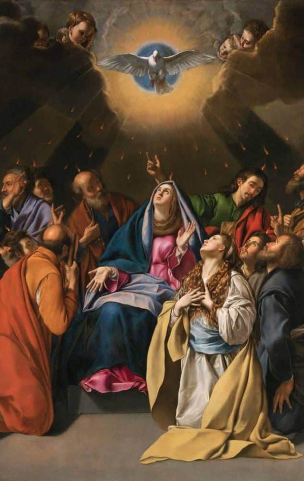 fire Holy Spirit pentecost confirmation sacrament