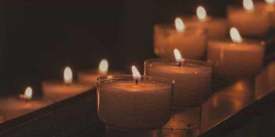 candles church prayer christ light
